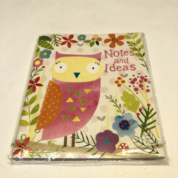 Notes & Ideas Owl Note book